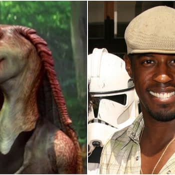 Ahmed Best jar jar in 2008