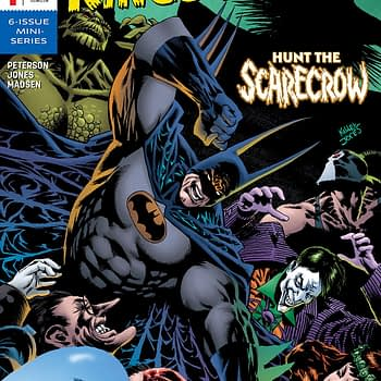 Batman: Kings of Fear #1 cover by Kelley Jones and Michelle Madsen