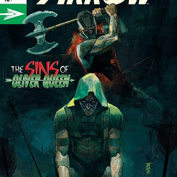 Green Arrow #43 cover by Alex Maleev