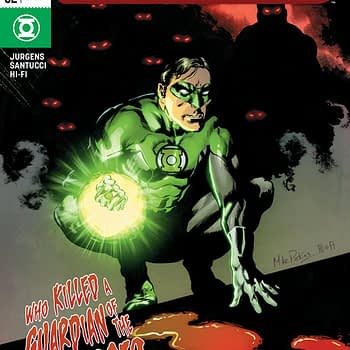 Green Lanterns #52 Cover by Mike Perkins and Hi-Fi
