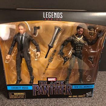 Marvel Legends Black Panther Target Exclusive Set 1