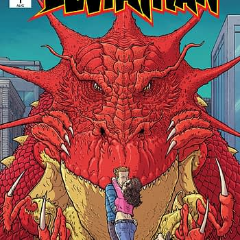 Leviathan #1 cover by Nick Pitarra and Michael Garland
