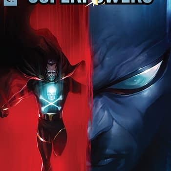 Project: Superpowers #1 cover by Francesco Mattina