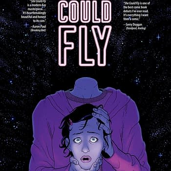 She Could Fly #2 cover by Martin Morazzo and Miroslav Mrva