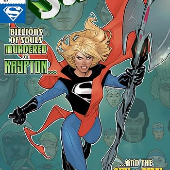 Supergirl #21 cover by Terry and Rachel Dodson