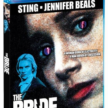 The Bride Scream Factory Blu Ray Release Cover