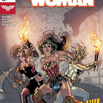 Wonder Woman #52 cover by David Yardin