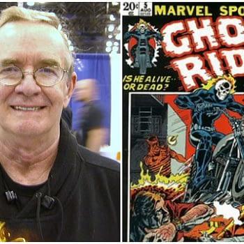 Comic book creator Gary Friedrich in 2008