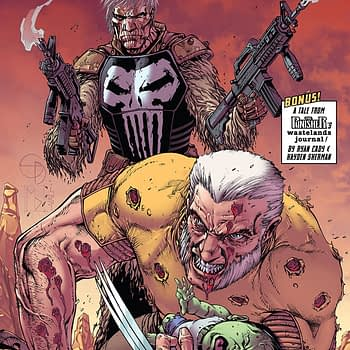 Old Man Logan Annual #1 cover by Shane Davis, Michelle Delecki, and Val Staples