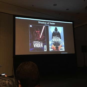 Shadow of Vader Marvel NYCC Slide
