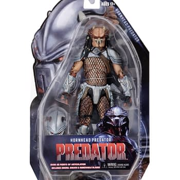 NECA Hornhead Predator Packaged 1
