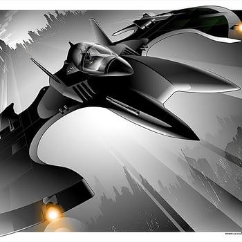 Batman 89 Batwing Poster by Craig Drake Mondo