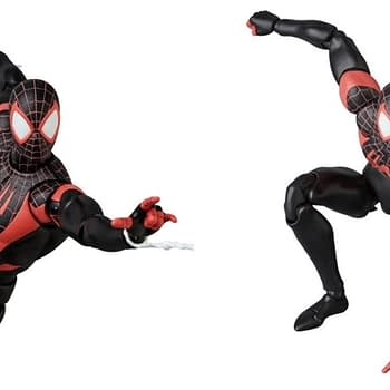 MAFEX Miles Morales Collage