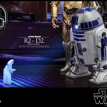 Star Wars Hot Toys R2 D2 Deluxe 2