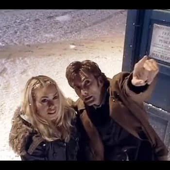 Rose Joins The Tenth Doctor | The Christmas Invasion | Doctor Who