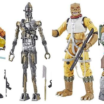 Star Wars Black Series Collage