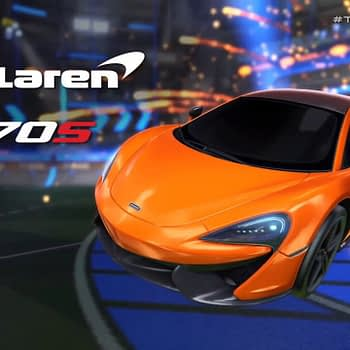 Rocket League Mclaren 570s Trailer - Game Awards 2018