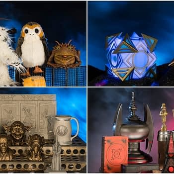 Star Wars Galaxy's Edge Merch Collage