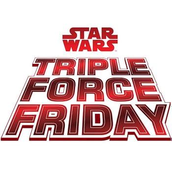 Star Wars Hasbro Triple Force Friday Logo