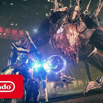 Astral Chain - Announcement Trailer - Nintendo Switch