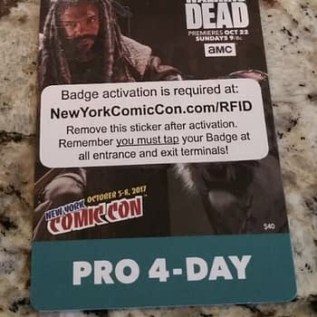 Return of the 4-Day Badge For New York Comic Con in 2019