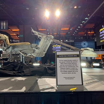 First Look at 'The Mandalorian' Speeder Bike from Star Wars Celebration