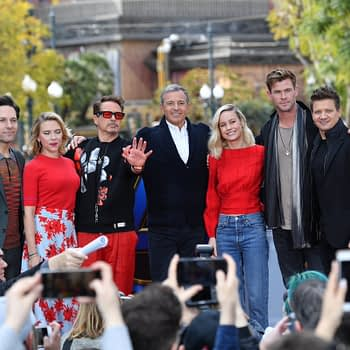 'Avengers: Endgame' Cast Invades Downtown Disney!