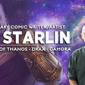 Thanos' Creator, Jim Starlin, Signing in Bufflao, New York, For Free Comic Book Day on May 4th