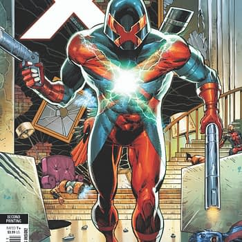 Behold: Rob Liefeld's Second Printing Variant for Major X #2