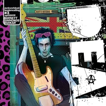 Killer Flashback Sets the Stage for 'Punks Not Dead: London Calling' #3