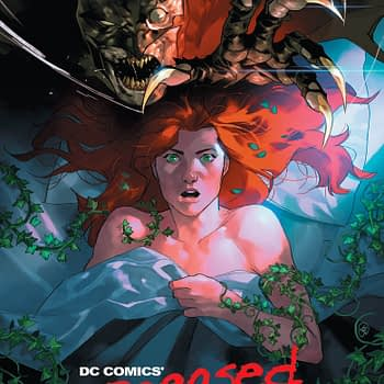 Poison Ivy Gets Freddy Kruegered in #DCeased #1 Variant by Yasmine Putri