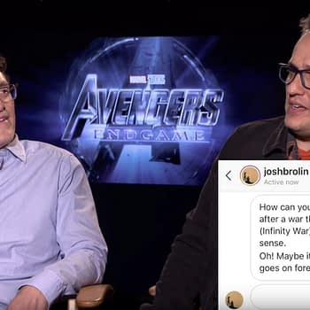 Josh Brolin Asks The Russo Brothers 'Avengers: Endgame' Questions from the Set of 'Dune'