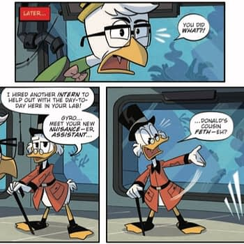 Capitalism and Nepotism Collide in Tomorrow's Ducktales #20