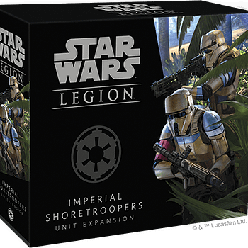 Fantasy Flight Games Announces Shore Troopers for Star Wars: Legion