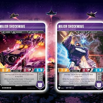 Transformers TCG Enters the War for Cybertron in June