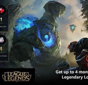Twitch Prime to Give Away 4 Months of League of Legends Loot
