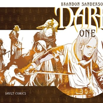 Vault Comics to publish Brandon Sanderson's The Dark One in 2020
