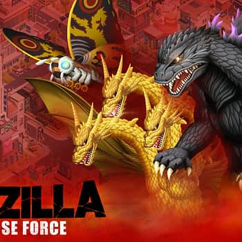Godzilla Is Getting His Own Mobile Game With Godzilla Defense Force