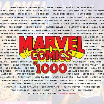 Oh Look, Neil Gaiman is Part Of Marvel Comics #1000 Too
