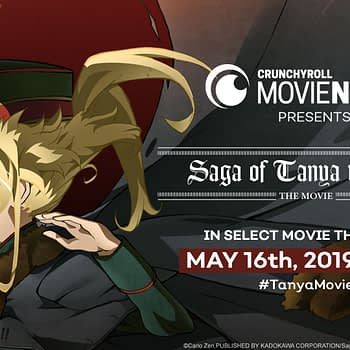 "May 16th: Crunchyroll Brings ""Saga of Tanya the Evil - the Movie -"" to Theaters"