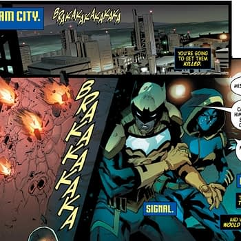 Signal Has a Problem With Black Lightning in This Batman and The Outsiders #1 Preview