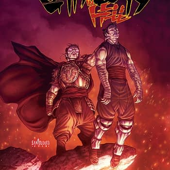 "Shredder Struggles Against Echoes of Himself in ""Shredder in Hell"" #3"