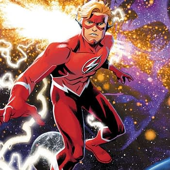 Scott Lobdell, Brett Booth and Norm Rapmund Launch New Wally West Series, Flash Forward