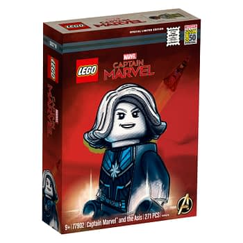 LEGO SDCC Exclusive Captain Marvel Set Revealed