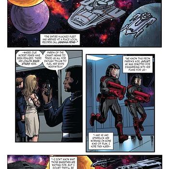 John Jackson Miller's Writers Commentary on Battlestar Galactica: Counterstrike #5