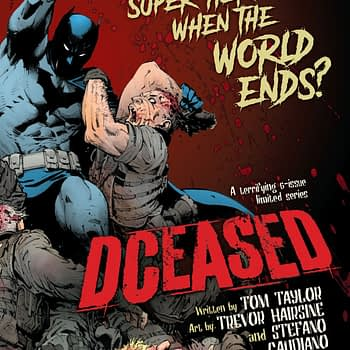 DCeased #1 Returns to Life with Second Printing