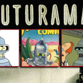 Futurama Fans: Here's a Rare Shot at the Bender Prototype
