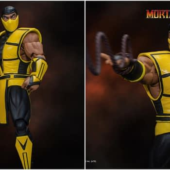 Mortal Kombat Favorite Scorpion Gets a New Storm Collectibles Figure