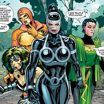 The Female Furies Come to Earth in Female Furies #5 Preview
