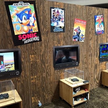 We Played Around With The SEGA Genesis-Mini During E3 2019